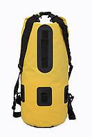 Водонепроницаемый сумка-рюкзак 25L GA-sport желтая