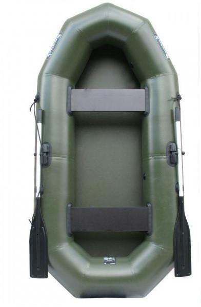 Надувная лодка Шторм mk280 двухместная гребная