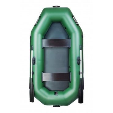Надувная лодка Ладья Лт-240 двухместная гребная