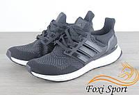 Мужские кроссовки Adidas Ultra Boost 3.0 Чёрные