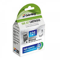 Картридж ColorWay для HP CC641HE (№121XL) bl. CW-H121XLB (ink level)