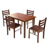 Комплект кухонный обеденный (стол + 4 стула)
