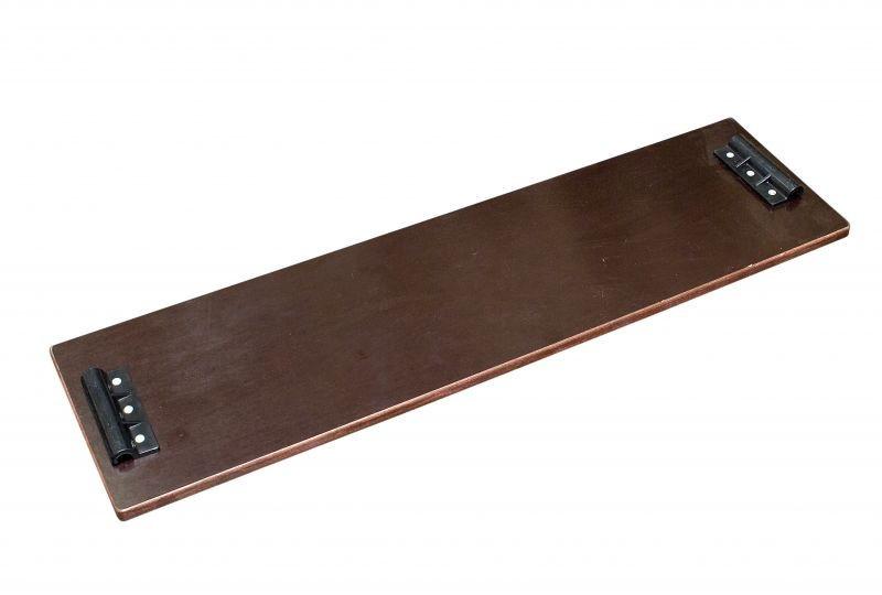Сиденье деревянное 1шт 96 скользящее
