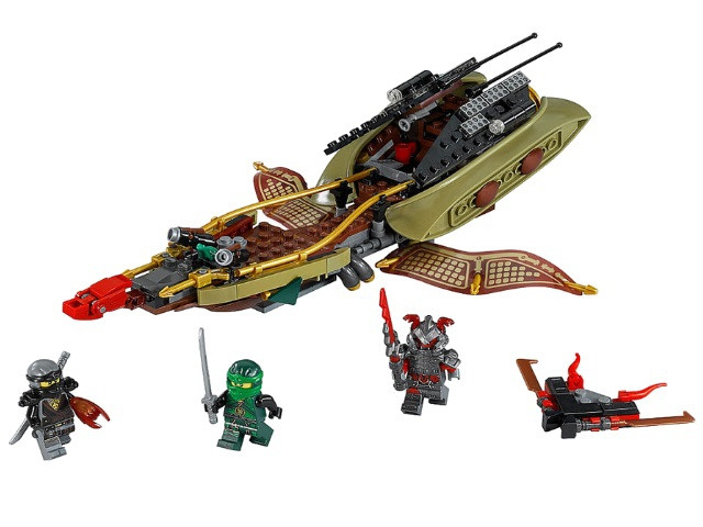 Конструктор Bela Ninja 10581 (аналог Lego Ninjago 70623)