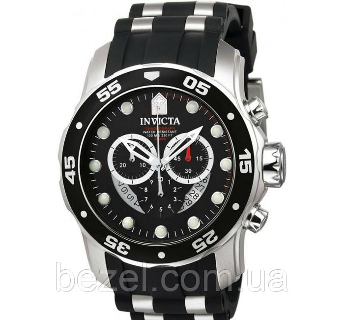 Мужские швейцарские часы INVICTA 6977 Pro Diver Инвикта кварцевые водонепроницаемые часы