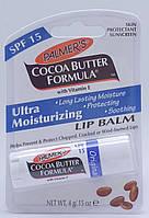 БАЛЬЗАМ для губ PALMERS COCOA BUTTER с витамином Е, 4г, SPF 15