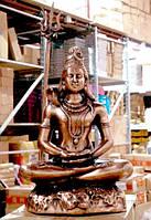 """Статуя силуминовая дутая """"Шива"""" (56х38х24 см)"""