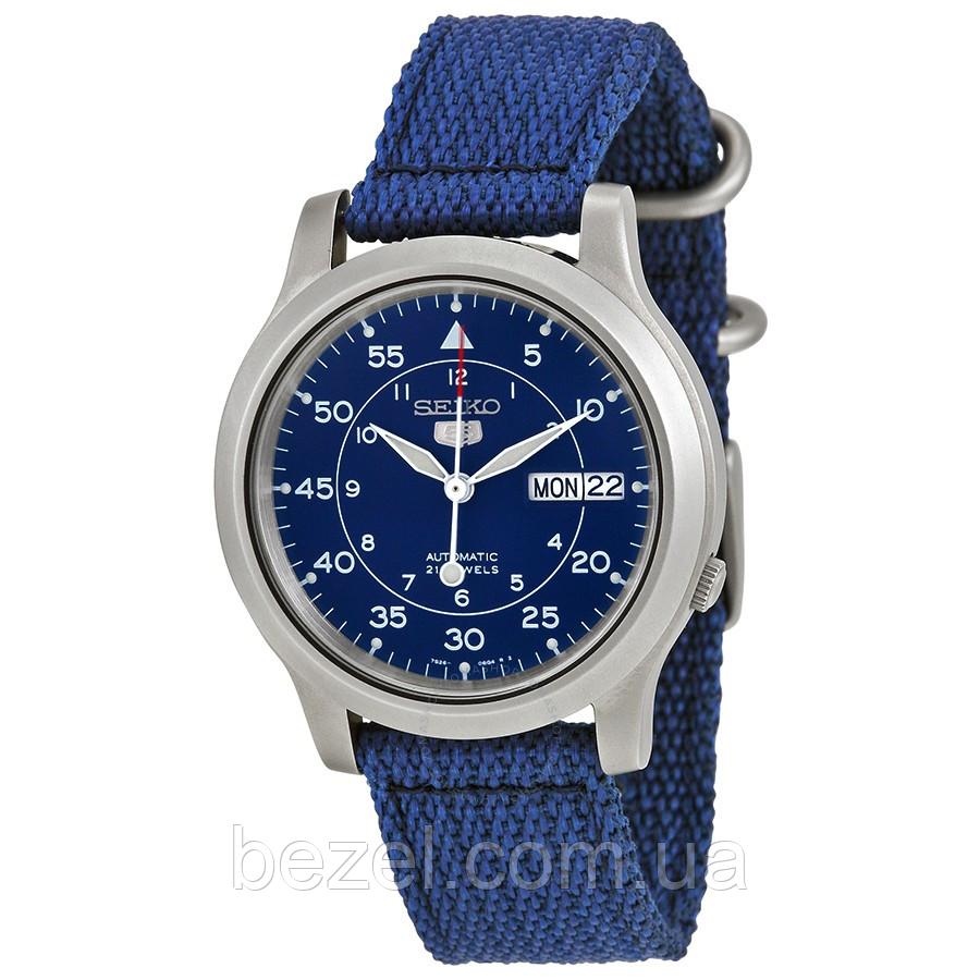 66cec120c2b2 Мужские механические часы Seiko 5 SNK807К2 Сейко механические японские часы  с автозаводом