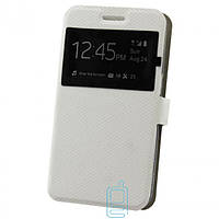 Чехол-книжка Modern с окном LG H818 G4 Белый