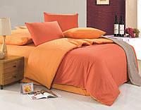 Красивое однотонное постельное бельё Valtery MO-21 CB18