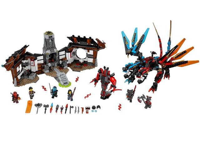 Конструктор Bela Ninja 10584 (аналог Lego Ninjago 70627)