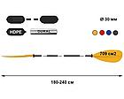Четырёхсекционное весло для байдарок и каяков tpn 702.4 Asymmetric, фото 2