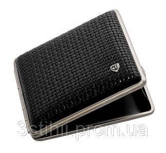 Портсигар VH 901221 для 18 KS/24 слим сигарет Черный