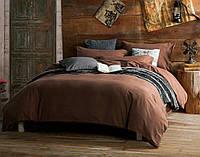Красивое однотонное постельное бельё Valtery MO-32 CB18