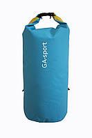 Водонепроницаемый сумка-рюкзак GA-sport сине-желтый, фото 1