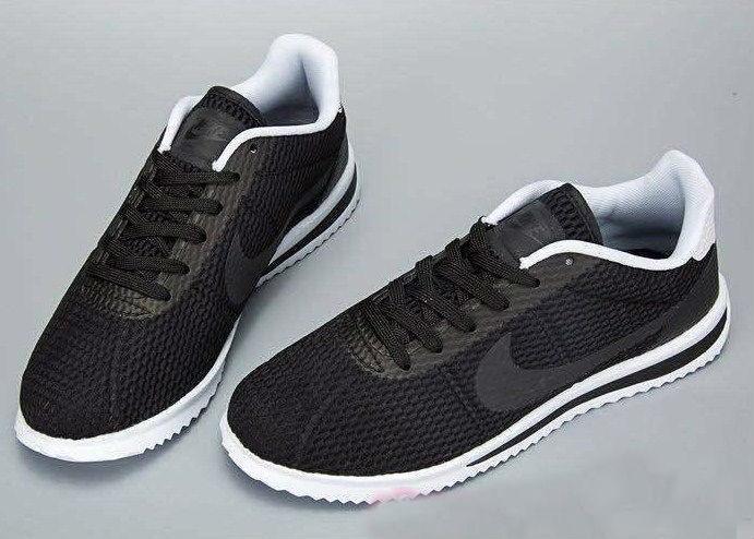 f41ec8a6 Nike Cortez Ultra BR Black White | кроссовки мужские; летние; черно-белые,  ...