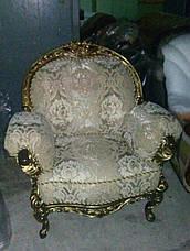 """Кресло""""Ника"""" с элементами ручной резьбы, фото 2"""