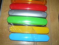 Чечол-футляр для зубной щетки широкий 20,5х4х2 см