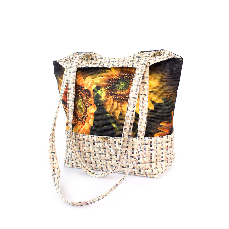 0472fb3bf479 Женская сумка Подсолнухи на тёмном, цена 350 грн., купить в Одессе ...