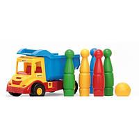 """Грузовик с кеглями """"Multi Truck"""" Wader 32220"""