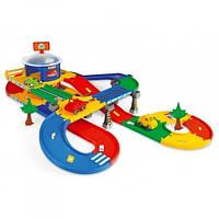"МегаГараж с трассой 5,5 м ""Kid Cars 3D"" Wader 53130"