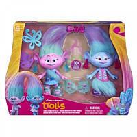 Тролли Модные близнецы Trolls Hasbro B6563