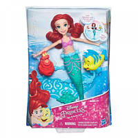 Кукла русалка Ариель плавающая в воде Hasbro B5308