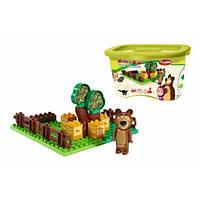 "Конструктор совместим с Lego Duplo ""Маша та Медведь Пасіка"" 18міс+ Play BIG"