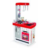 Интерактивная кухня Bon Appetit Red со звук. эффектом, аксес., 52х34х97 см, 3+  SMOBY TOYS 310800