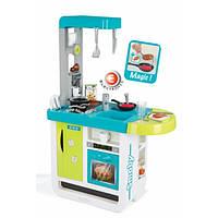 Интерактивная кухня Cherry Blue со звук. эффектом, аксес., 67х34х97 см, 3+  SMOBY TOYS 310900