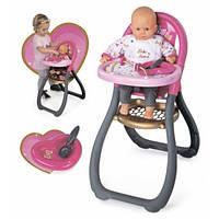Стульчик Baby Nurse для кормления кукол с аксессуарами SMOBY TOYS  220310