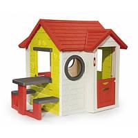 """Дом """"На берегу моря"""" со столом и звонком, 154х135х120см, 2+  SMOBY TOYS  810401"""