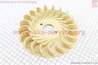 Крыльчатка охлаждения обмоток статора (вентилятор) Ø165мм 1,9-3кВт