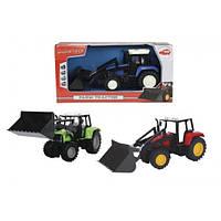 Трактор с фигуркой человека, 25 см, 3 вида, 3+  DICKIE TOYS  3735002