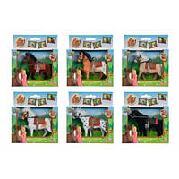 Лошадка, 11 см, 6 видов, 3 +  SIMBA TOYS  4325612