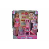 Кукольный набор Штеффи с домом для кошек и аксес., 3+  SIMBA TOYS  5730214