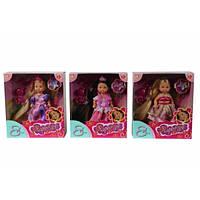 Кукла Эви с длинными волосами и аксессуарами., 3 вида, 3+  SIMBA TOYS  5737057