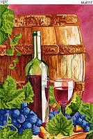 """Схема для вышивки бисером """"Бокал вина """""""