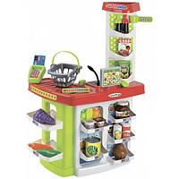Продуктовый супермаркет Chef с кассой, корзинками и продуктами Ecoiffier 001784