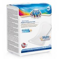 Прокладки послеродовые дышащие (на ночь) 10шт. Canpol babies 78/001