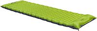 Надувной туристический коврик Wechsel Nubo L Zero-G Line 923799, зеленый