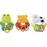 Погремушка «Коровка/лягушка/медвежонок» Canpol babies 56/128