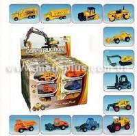 Набор машинок строительная техника 24шт в дисплее 18*25*19см PT 603 (288)