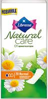 Щоденні прокладки Libresse Natural Care 20 шт.
