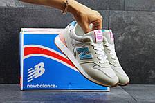 Женские кроссовки New Balance 996 бежевые, фото 2