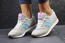 Женские кроссовки New Balance 996 бежевые, фото 3