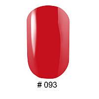 Гель-лак G.La Color, 10ml, цвет №093 (кораллово-красный, эмаль)