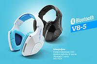 Беспроводные bluetooth игровые наушники с микрофоном V8