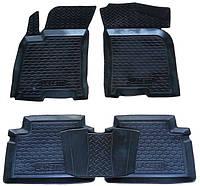 Коврики в салон Chevrolet Aveo 2002- 2011 (5шт) каучук ТЭП
