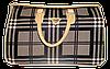 Сумка дорожная женская летняя клетка HQW-008900